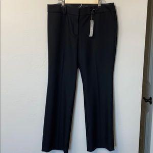 LOFT black Marisa trouser pants size 14. NWT.